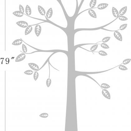 Shelf Tree Decal - Tree Decal With ..